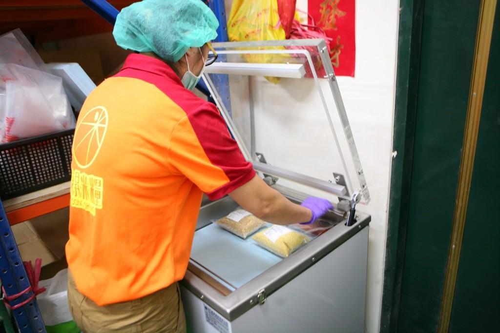 東昇米糧食材真空包裝2